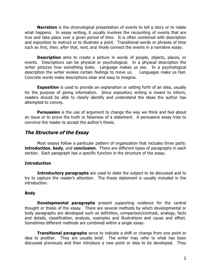 good words to use in ap english essays examples essay for you - English Essay Examples
