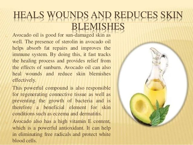 The High Cosmetic Value Of Avocado Oil For