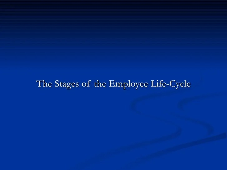 Benefits Cycle Employee And Compensation Life
