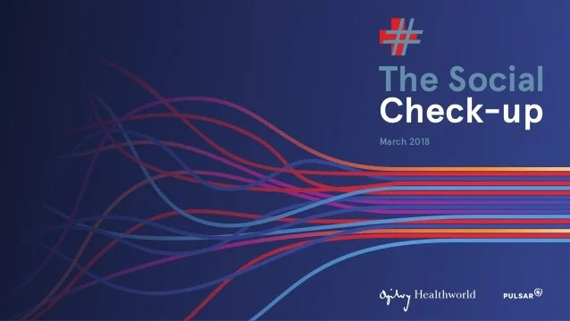 The Social Check Up 2018 Pharma In The Social Space