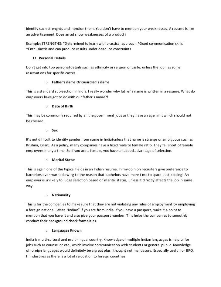 resume strengths examples key strengths skills in a resume resume key