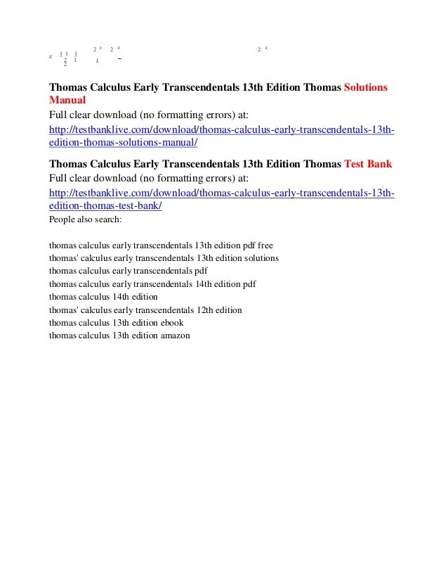 Fundamentals of calculus stewart solutions manual ebook array free books to read calculus early transcendentals nd edition rh lifechallengingrides us fandeluxe Image collections