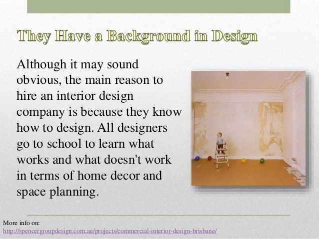Advantages of becoming an interior designer for Companies that hire interior designers