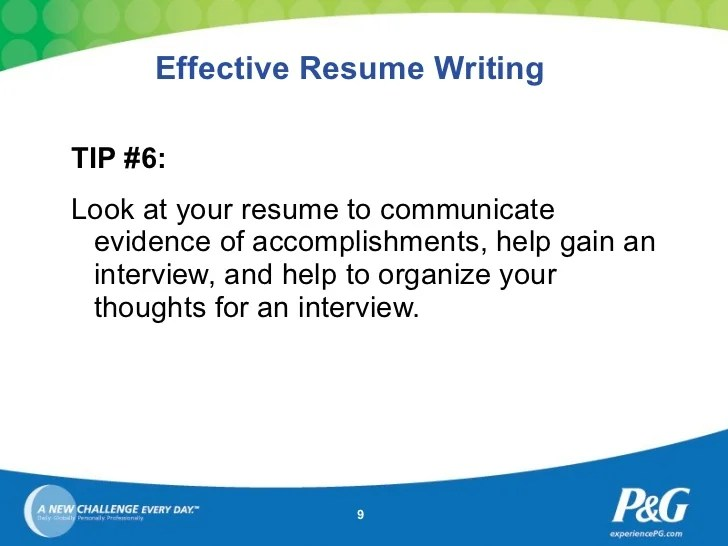 tips for writing a great resume the best resume writing tips 2016