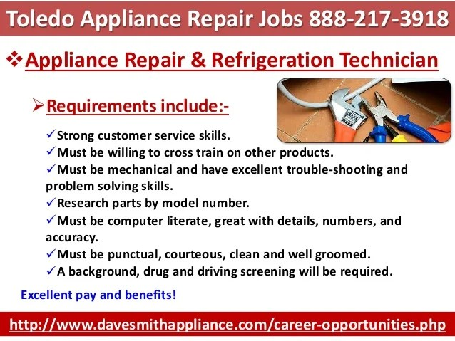 beautiful appliance repair technician resume gallery simple