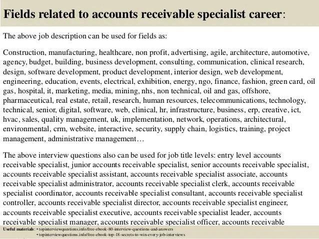 accounts receivable resume sample monster sample monster manager
