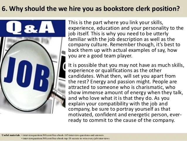gallery bookstore clerk resume free sample resume resume example