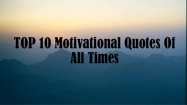 All Best Quotes Time Motivational
