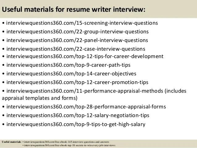 Resume writing experts yahoo