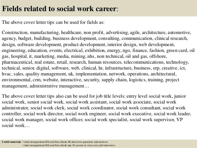 Resume Cover Letters For Social Work Position. esthetician ...