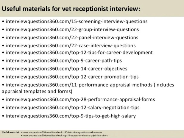 Imagenes De Questions For Job Interview Receptionist
