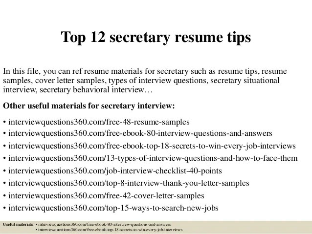 job resume sample secretary resume objective secretary resume job