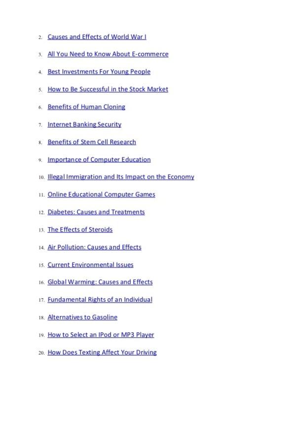 Interesting informative essay topics mistyhamel