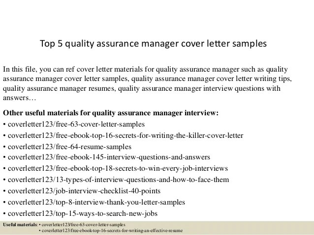 Resume Quality Control Manager. Quality Assurance Manager Resume