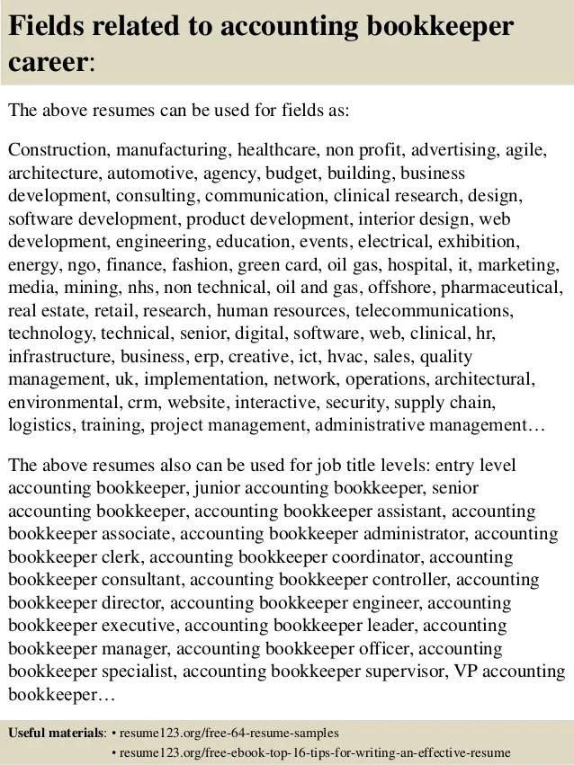 Bookkeeper Resumes. Bookkeeper Resume Sample Amp Guide Resume