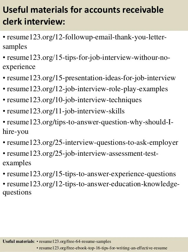Accounts Receivable Clerk Resume Sample Technology Pinterest Perfect Resume  Example Resume And Cover Letter  Accounts Receivable Clerk Resume
