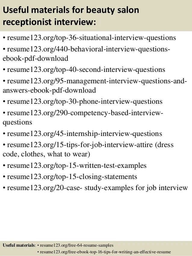 Receptionist Skills Resume Sample - Cover Letters and Resume