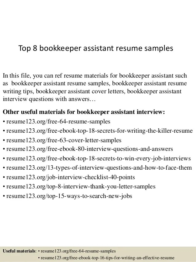 Example Of Functional Resume INPIEQ  Resume For Bookkeeper