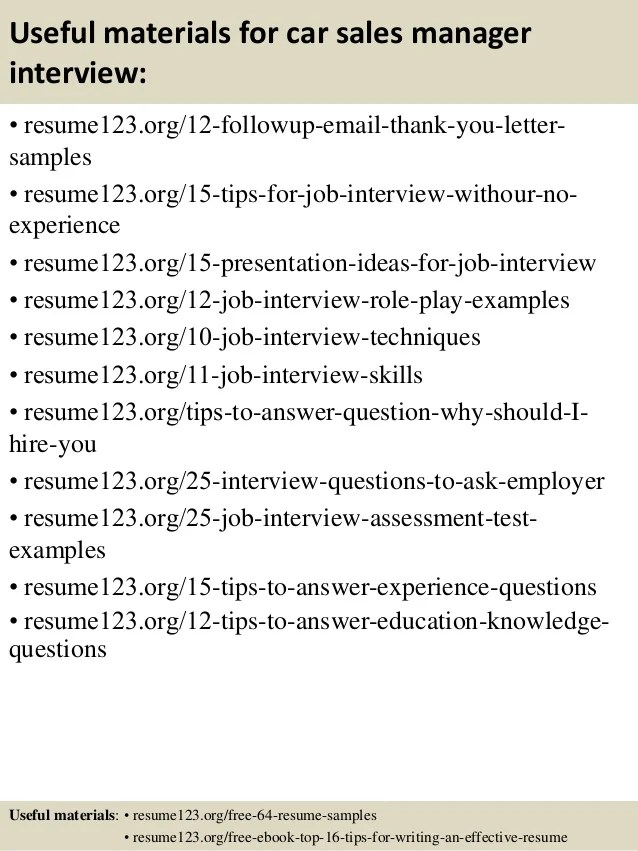 Cover Letter Examples for Sales and Marketing Jobs