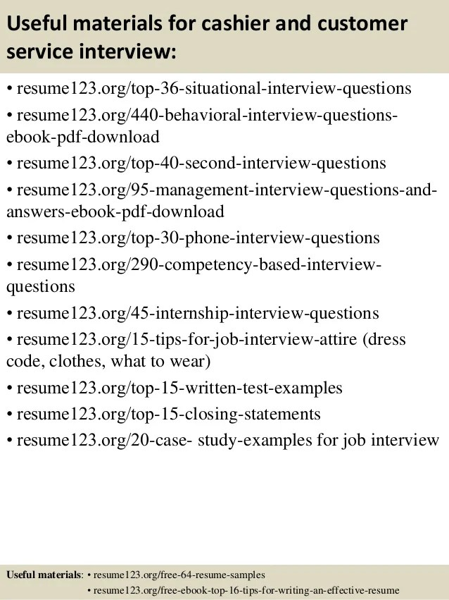 how to make resume for cashier job