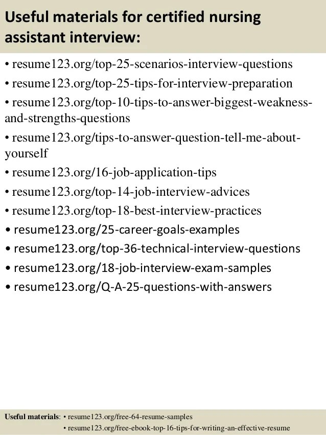 Sample Nursing Assistant Resume. Resume Examples Cna Resume