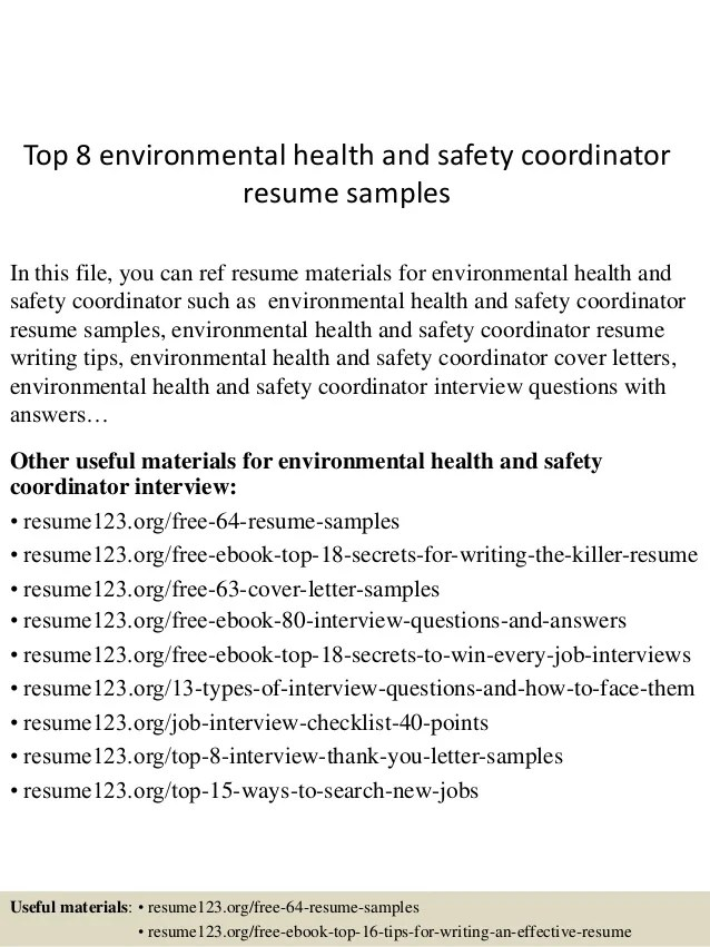 samplesin this file you can ref resume materials for environmen