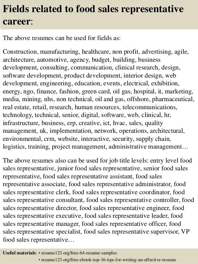Telemarketing sales representative resume – Sales Representative Resume