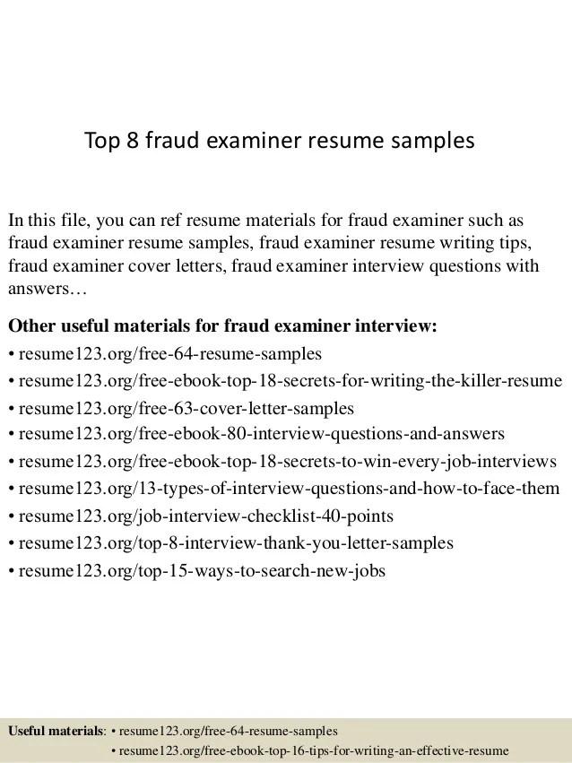 Bank Examiner Resume Examples. bank examiner resume senior account ...