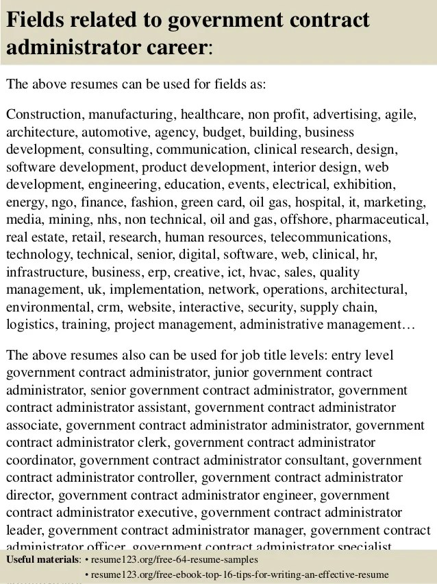 Administrator office coordinator cover letter sample