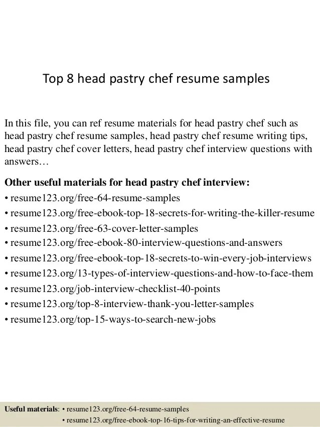 resume resume template chef resume objective examples sous chef ...