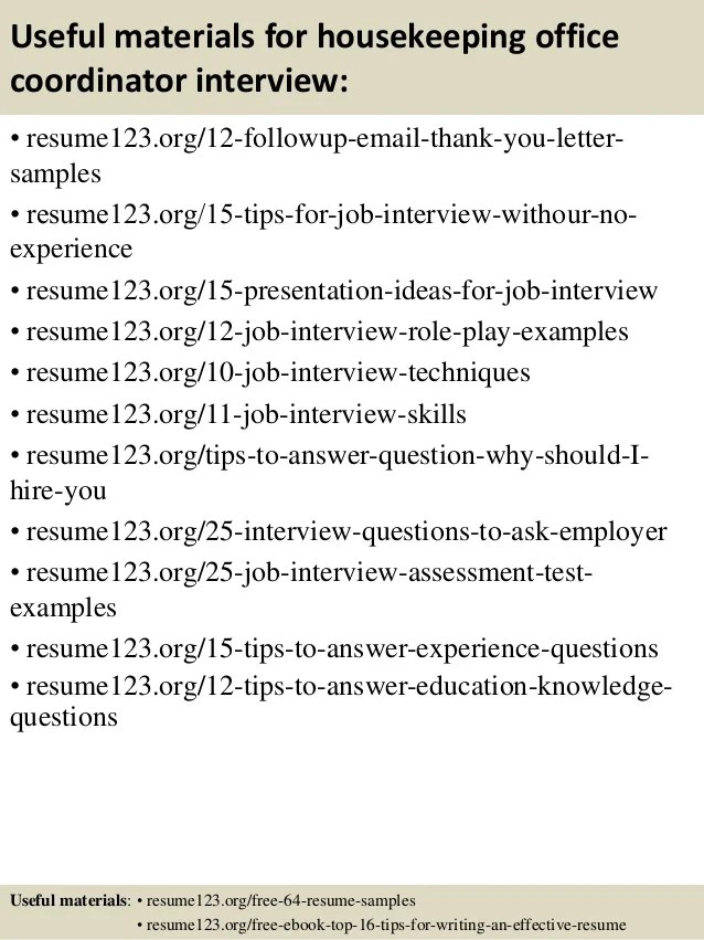 Office Coordinator Resume Description sample for business – Office Coordinator Resume Sample
