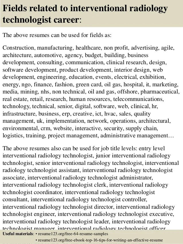 Radiology Technician top 10 colleges