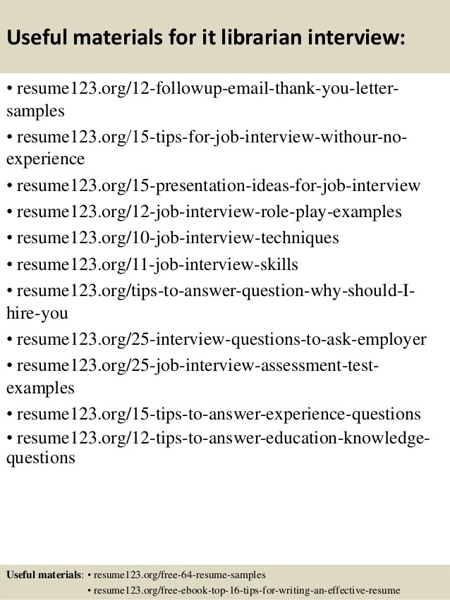 sample librarian resume librarian resume example library assistant