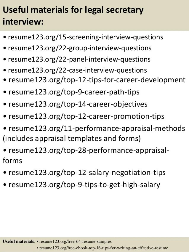 Resume Writing For Legal Jobs, Robert Half Legal