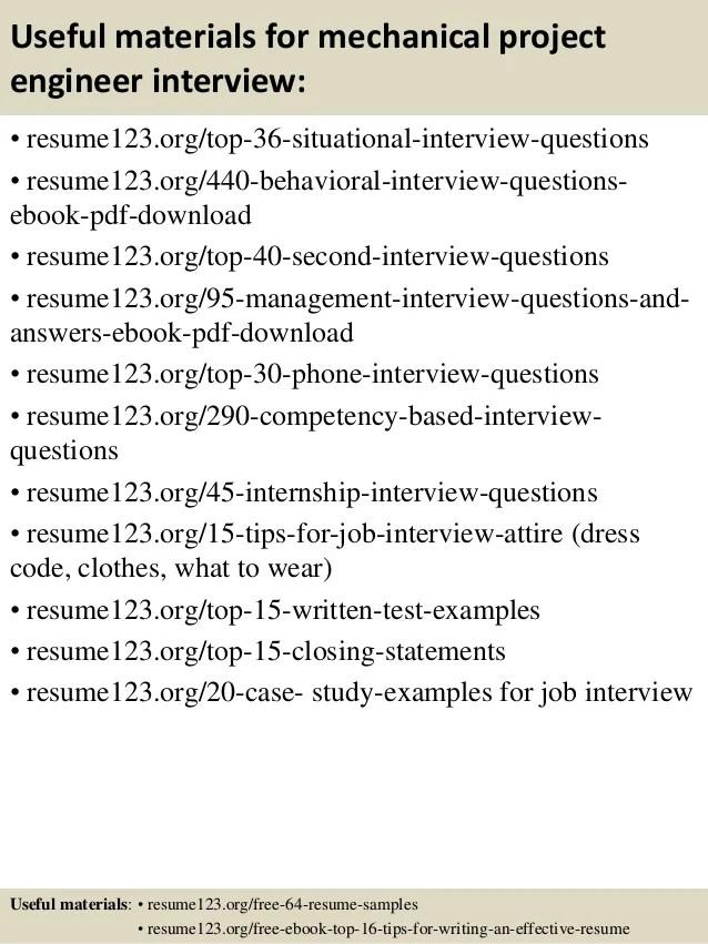 Mechanical Engineer CV template, CareerOneau