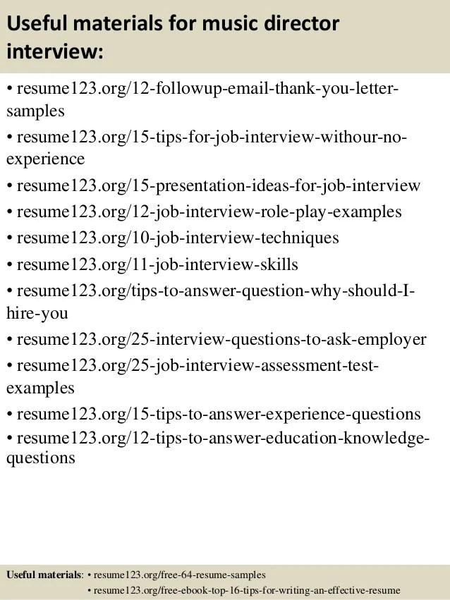 Music Teacher sample Cover letter, Career FAQs