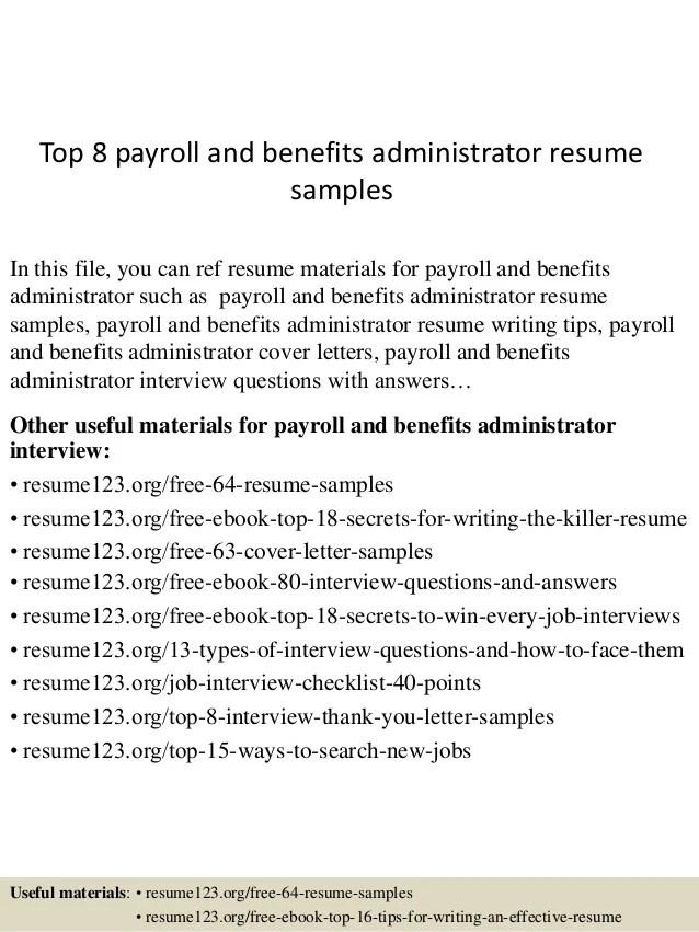resume payroll administrator cover letter example icoveruk best ...