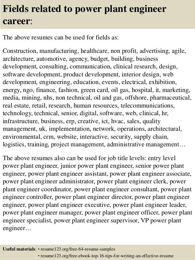 POWER PLANT OPERATOR - Michigan