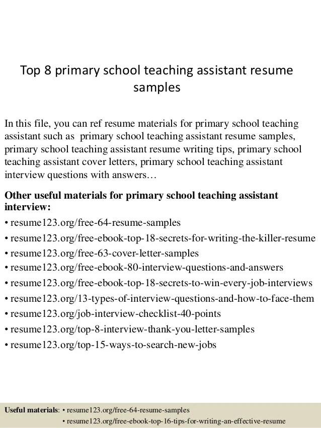 Teacher Assistant Resume Description. Resume Job Descriptions For
