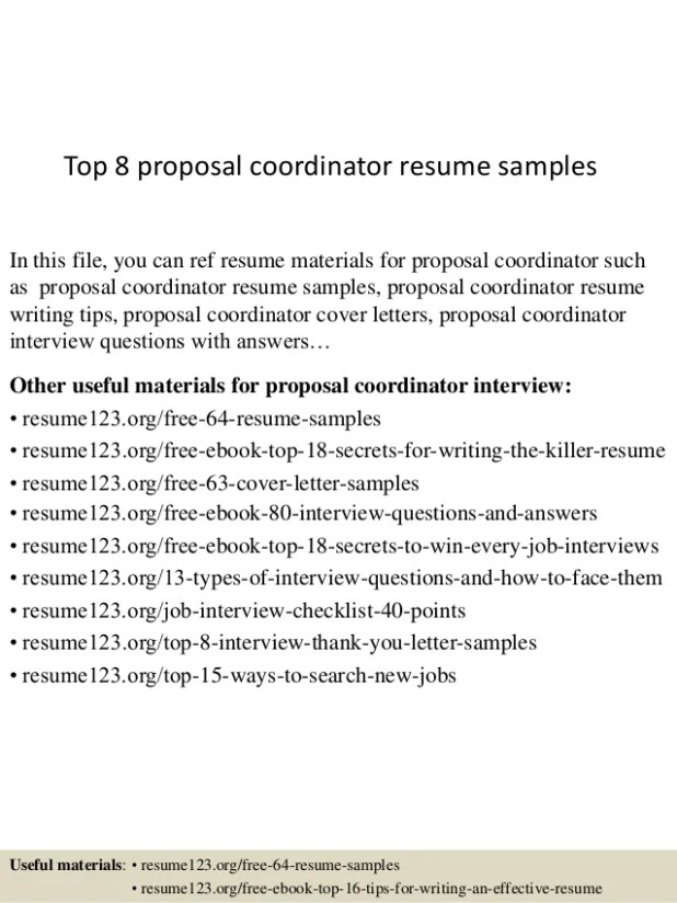 Nutrition Coordinator Cover Letter Sample Howtoviews