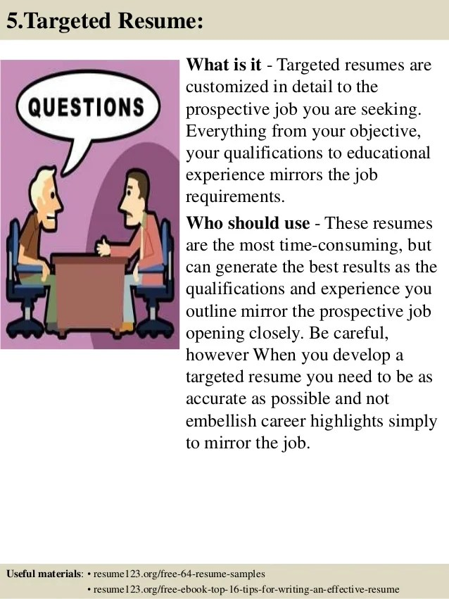 Resume Examples And Writing Tips - The Balance
