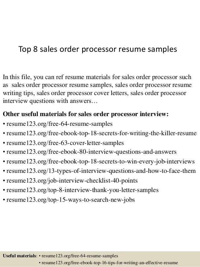 Resume Order. resume order. do use a reverse chronological order ...