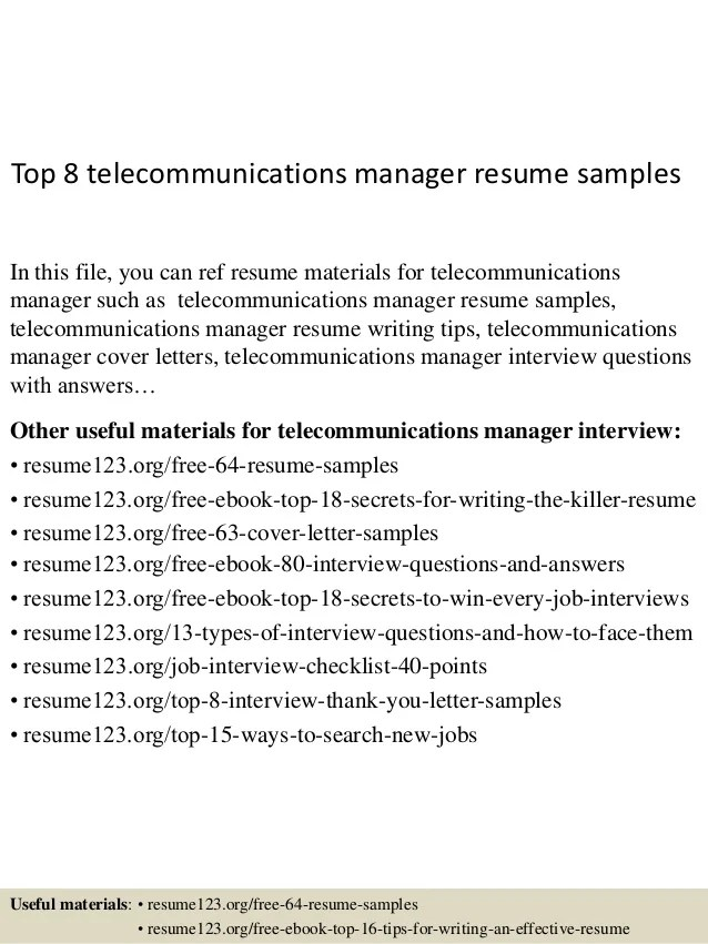telecom channel sales manager resume