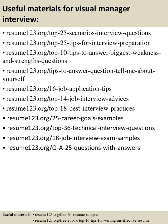 useful materials for manager interview resume123 org top 25