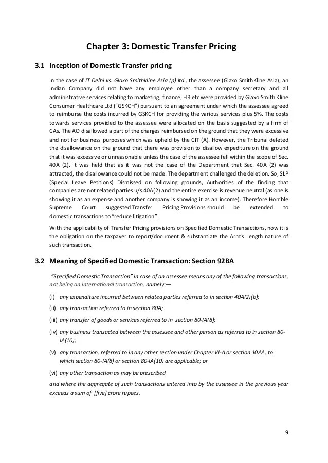 Transfer Pricing Agreement Template Transfer Pricing