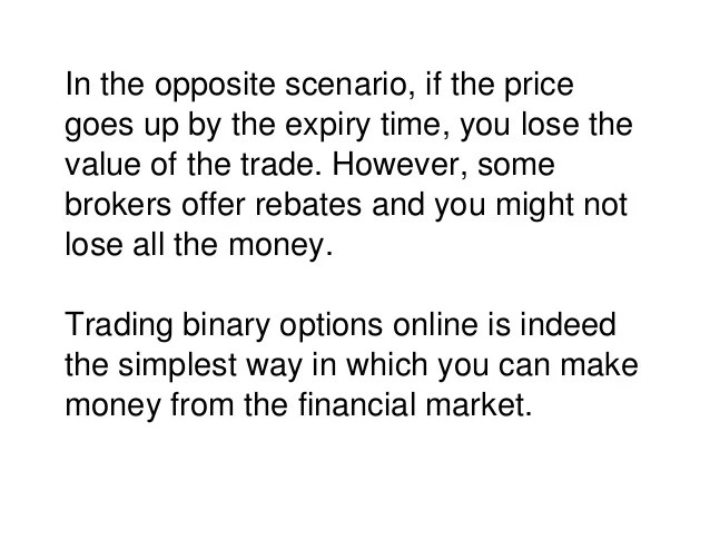 Can i trade binary options in the uk