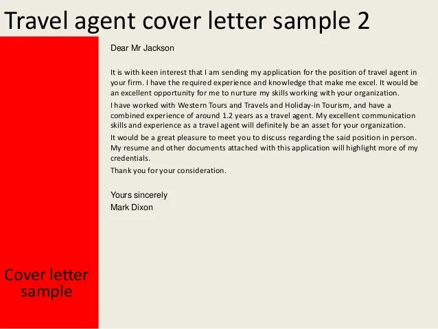 Cover Letter Travel Agency Company Profile Sample ...