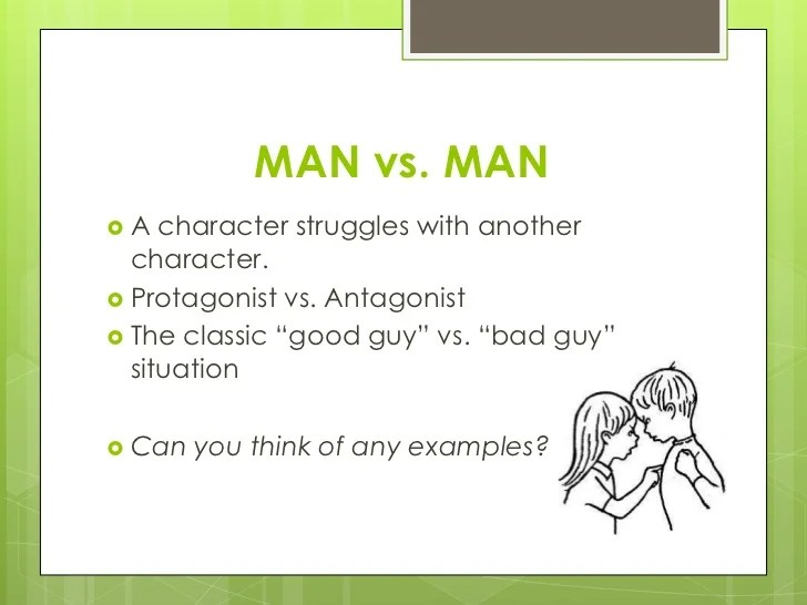 Types Of Conflict Man Vs Himself Essay - image 3