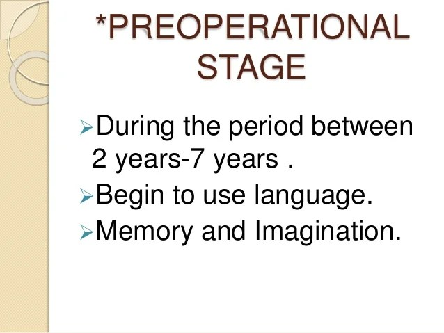 Piaget Formal Operational Period