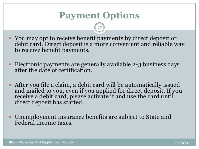 Illinois Unemployment Debit Card Phone Number | Poemview.co
